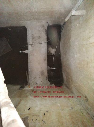 防爆式超声波流量计探头安装位置
